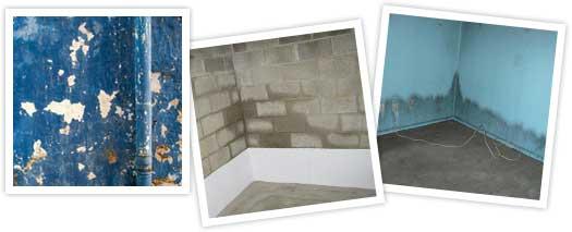 Vochtige muren impregneren