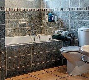Vochtig toilet